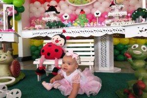 Aniversário Lívia 1 ano