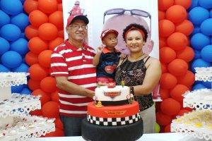 Marcus Vinicius 2 anos